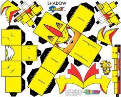 super shadow cubee by SunnytheHedgehog123