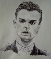 Theo Hutchcraft from Hurts by JazIllustrations