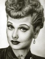 Lucille Ball by noeling
