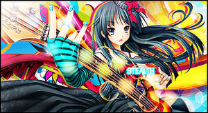 Anime Vector Guitarist by Stealthy4u