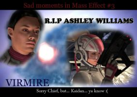 Sad moments in Mass Effect 3 by maqeurious