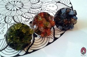 Gemstone-like rings by BlitheMagic