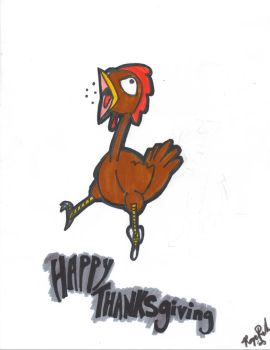 Happy Thanksgiving by Ecroy