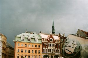 Stormy, Old Town by wabrix