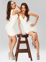 Bella Twins All White 4 by TheSm00thCriminal