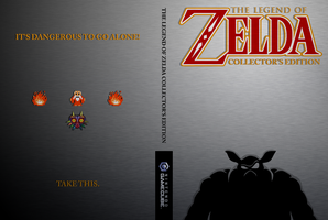 Custom Zelda Collector's Edition Game Cover by Cheetashock
