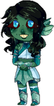 Seafoam Pixel by Ink-Palette