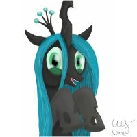 Cute Chrysalis by wolver87