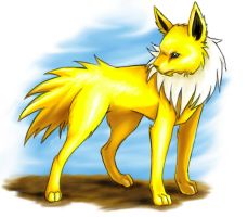 Jolteon by Lady-Leaf