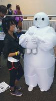 Baymax and Gogo by Fox-Rachel