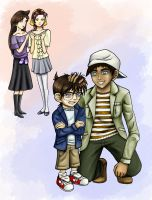 Detective Conan: Haha I hate you Hattori by CrimsonskyR