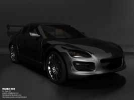 3DS Max: Mazda RX8 by ryan-mahendra