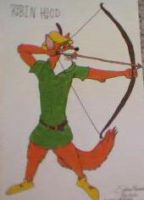 Disneys Robin Hood. by SykesNormatus