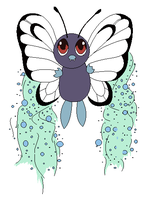 Butterfree used Sleep Powder by Kainaa