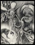 Insectoid nightmares by larkin-art