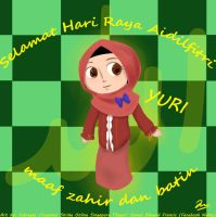 Selamat Hari Raya Adilfitri to all Muslim Artist! by IntrovArt