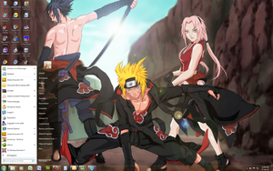 Naruto Shippuden - Win 7 Theme by Windowsthememanager