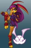 Sarah The Rabbit by Dragonman32