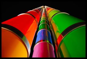Coloured pillars by nutnic