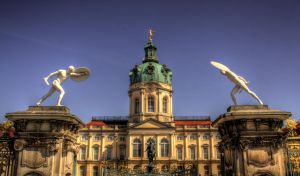 gate of Charlottenburg Palace by hans64-kjz