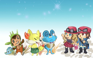 Welcome to PKMN Crossing! by Beeju