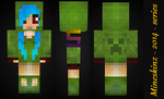 Minecraft: Maple Skin W/ Patch Preview by mineskinz
