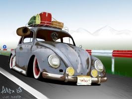 vw beetle by the-mba