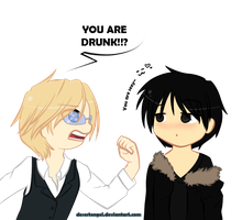 DRRR: You are DRUNK by cinyu