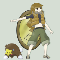 Ground Type Gym Leader: Andrea by mssingno