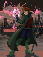 Gambit and his mayhem by ChaosKomori