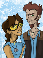 Me and My Best Friend by Disdainful-Loni