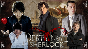 Sherlock and Death Note by chriscastielredy