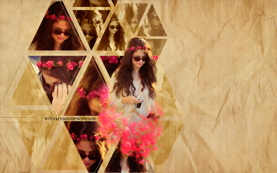 +Selena Wallpaper by WithMyHeadphonesOn