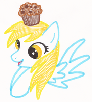 Derpy Muffins by LovelyWaifu
