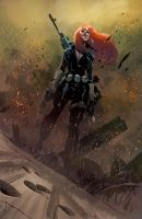 Black widow by FabianCobos