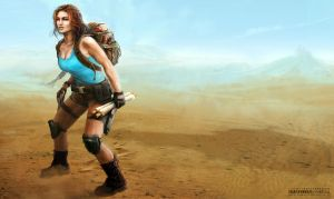Lara Croft by NightWish666