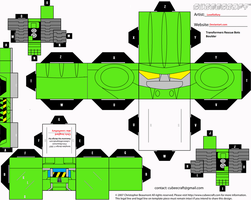 Rescue BOTS Boulder cubee template by lovefistfury