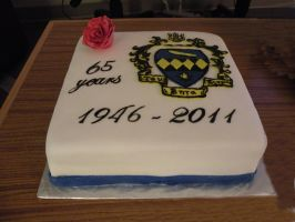 TBS 65th anniversary cake by cake-engineering