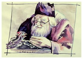 Dumbledore by TioUsui