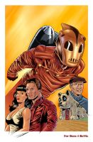 The Rocketeer by KevinJConley1