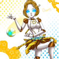 Orianna  -League of Legends- by HayumiCalcium-Sama