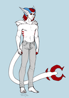 Megs human form ref 2014 by annicron
