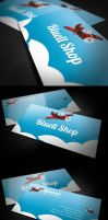 Bluell Business Card by k0z3y