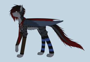 .::Divided-Main Character Design::. by BritishNicky