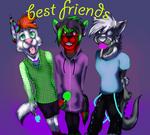 3bffs commish by darklunawerewol1