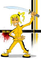 kill bill_uma thurman by alperdurmaz