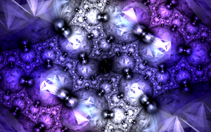 floor with violet jewels by Andrea1981G