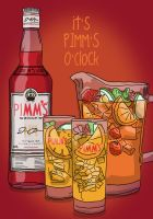 Drinks with Friends 21 - Pimm's Cocktail by resresres