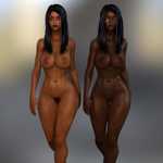Iray and G3F Test - Habesha Hottie by ambient-avalancher