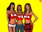 LA-TI-NA- Spell It Out by ImfamousE